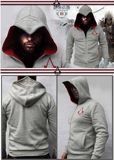 Escudo Assassins Creed 3 Conner Kenway sudadera con capucha ...