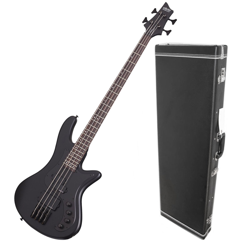 shecter 2522 stiletto stealth 4 bass guitar w
