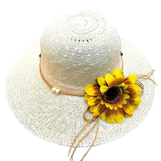 6eff0a1ff Summer Beach Sun Hat,Straw Hats for Women, Fashion Daisy