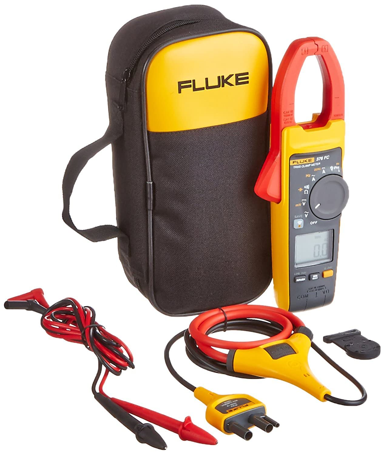 Fluke 376FC True-RMS Clamp Meter with iFlex