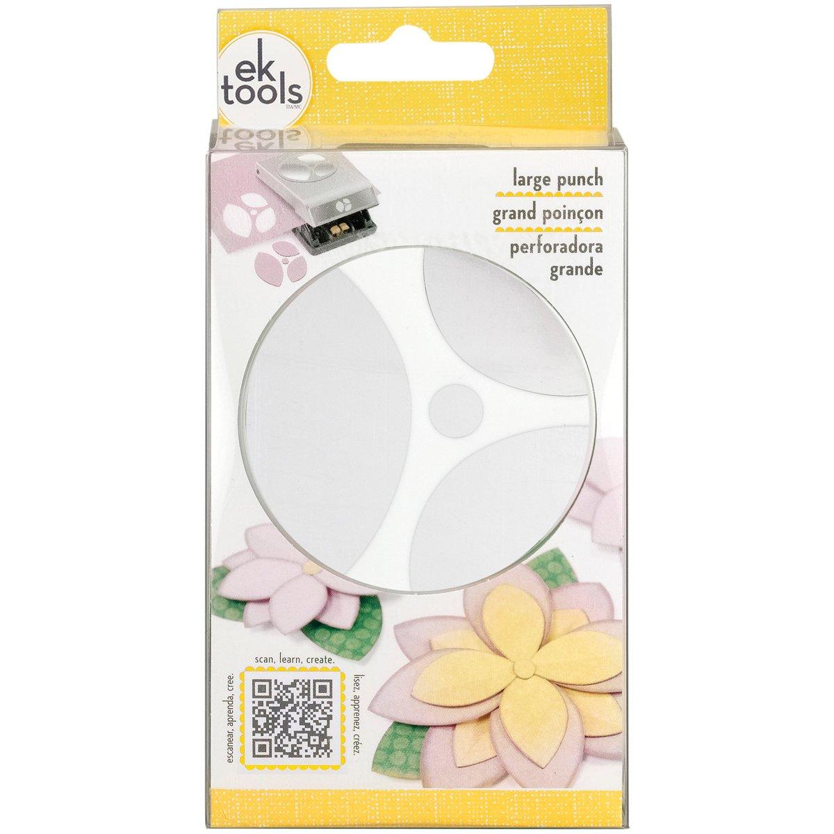 Amazon Ek Tools Petals Double Punch Large