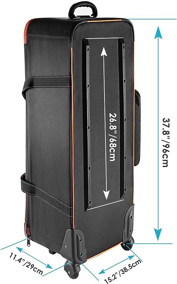 paraguas y trípode Equipo de estudio fotográfico Trolley bolsa de transporte para luz Stand