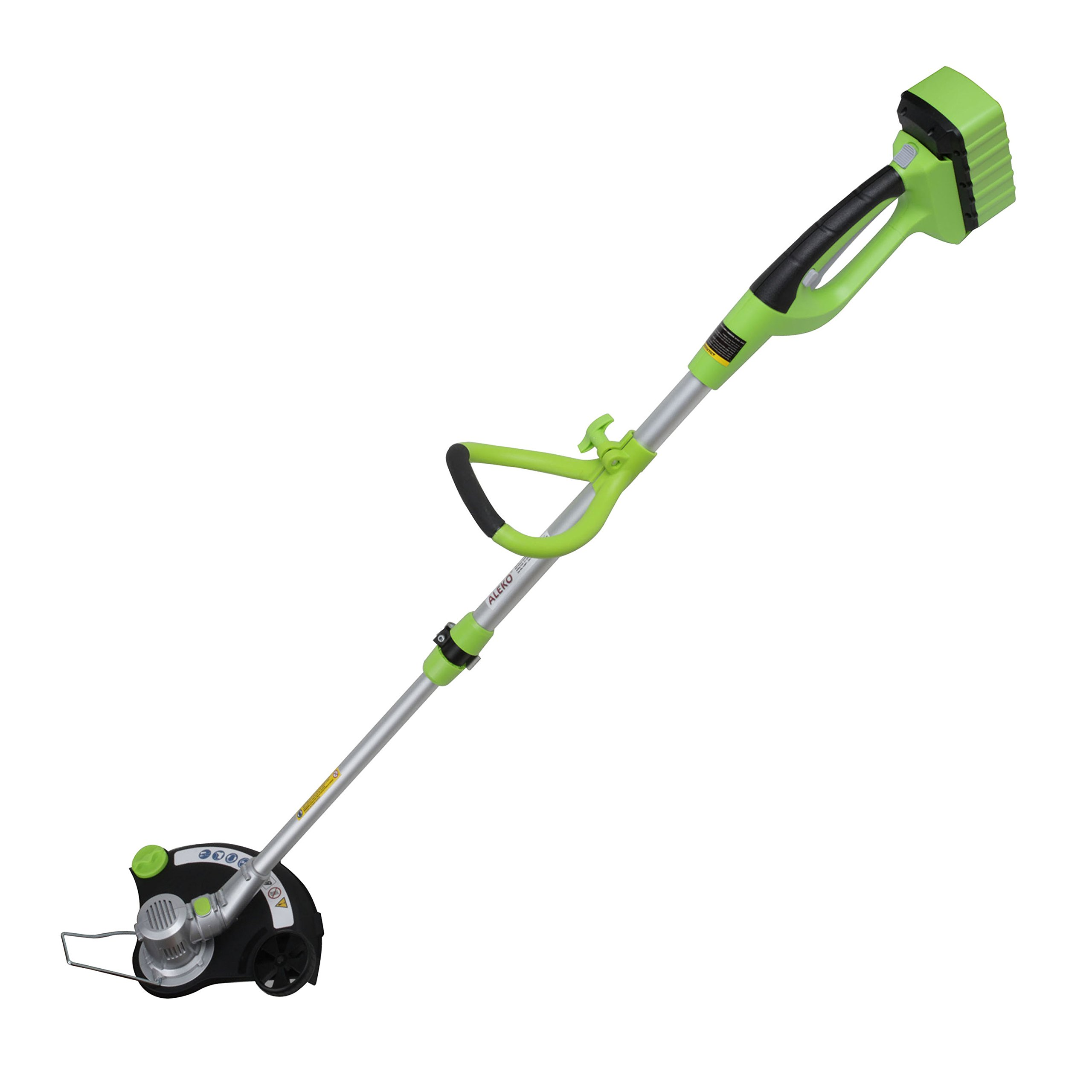 ALEKO G15242 Cordless 36V Handheld Grass Trimmer Weedwacker with Battery and Charger