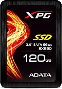 XPG by ADATA SX930 120GB 2.5 Inch SATA III Extrem Performance Read up to 560MB/s Gaming Solid State Drive (ASX930SS3-120GM-C)
