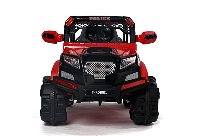 Buy Toy House Ranger Off Roader Ride On Jeep Red Online At Low