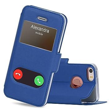 coque iphone 5 bleu fonce
