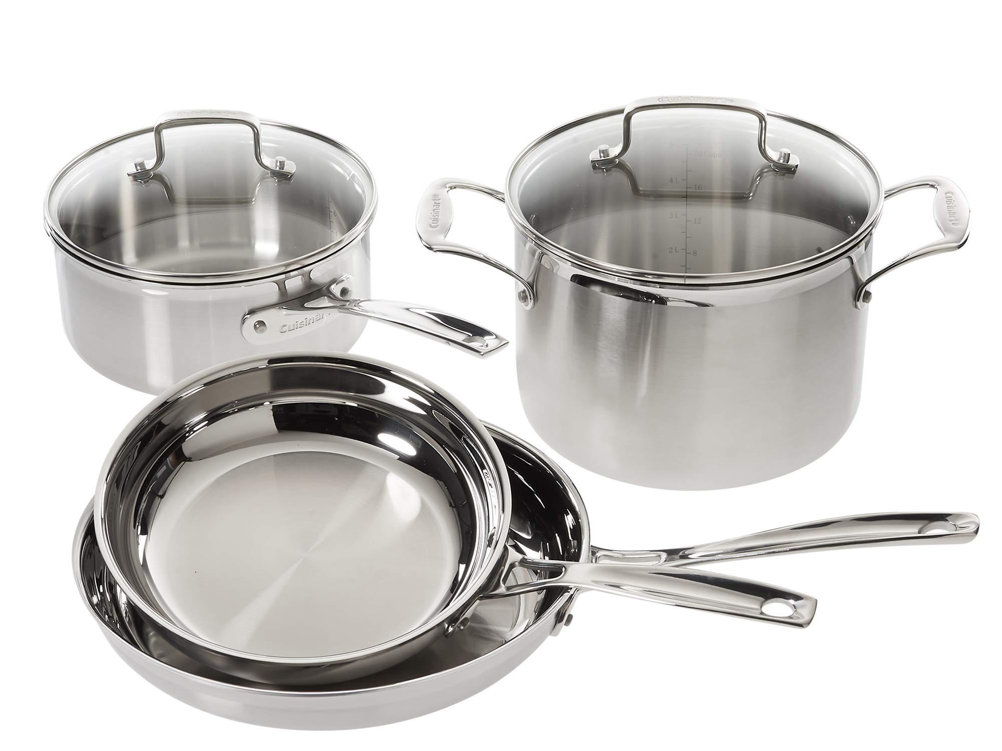 Cuisinart Multiclad Pro Stainless Steel 6-Piece Cookware Set