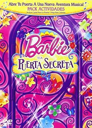 Barbie Y La Puerta Secreta Amazoncouk Dvd Blu Ray