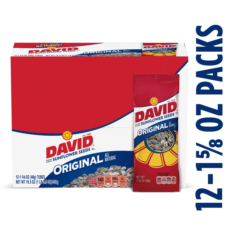 Semillas de girasol David Seeds, original, tostado y salado ...