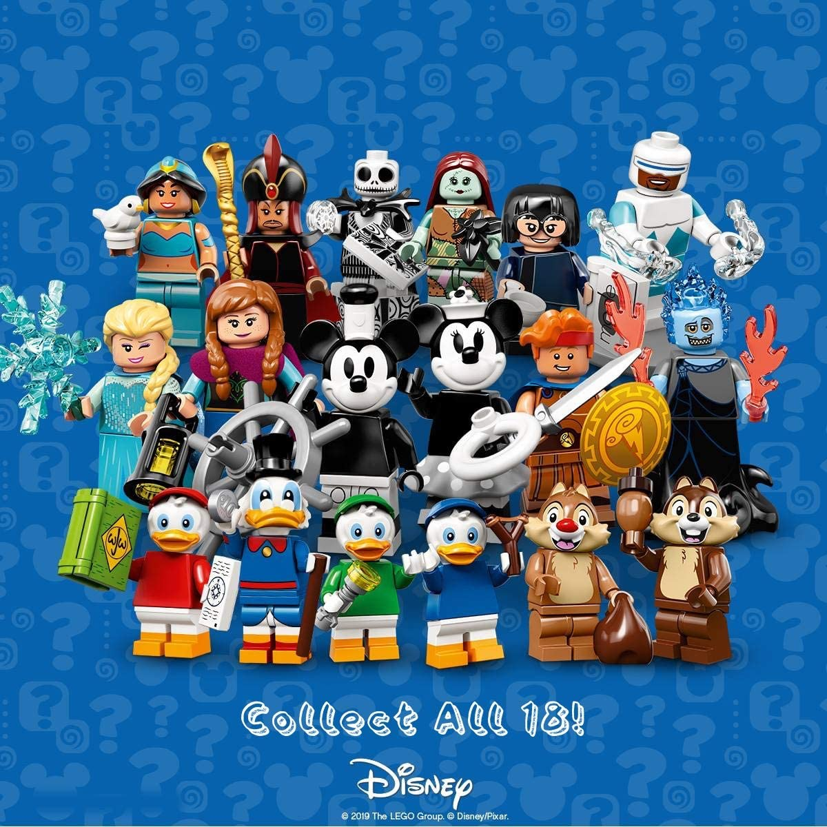 71024 Sealed Pack Dale LEGO Disney Series 2 Collectible Minifigure