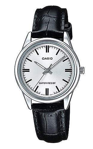 Casio Reloj con Movimiento Cuarzo japonés Woman Ltp-V005L-7A 30.0 mm: Amazon.es: Relojes
