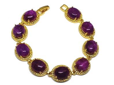18 Perles Violet Or Naturel Plaqué Du Sugilite Kgp Afrique Sud n0wPOk8X