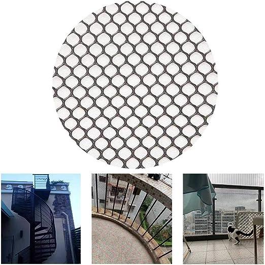 Color Negro - Cubierta Balcón Y Escalera Red De Seguridad Protección Net - Barandilla De Escalera Net - Seguridad De Los Niños;Seguridad For Mascotas;Protector De Escaleras: Amazon.es: Productos para mascotas