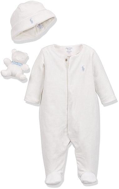 Polo Ralph Lauren Velour AC-GBX Gift Box Set, Pelele Unisex bebé: Amazon.es: Ropa y accesorios