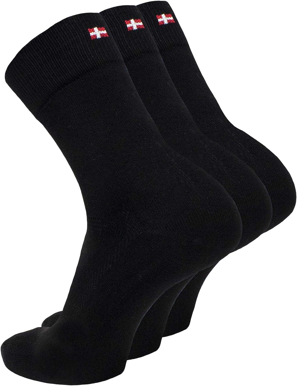 Super Soft for Men /& Women Breathable Bamboo Dress Socks 3 Pack Premium