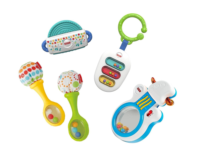 Fisher Price Pack sonajeros musicales Mattel FFV