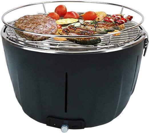 Aobosi Barbacoa Portátiles Carbón Grill con Ventilador Turbo ...