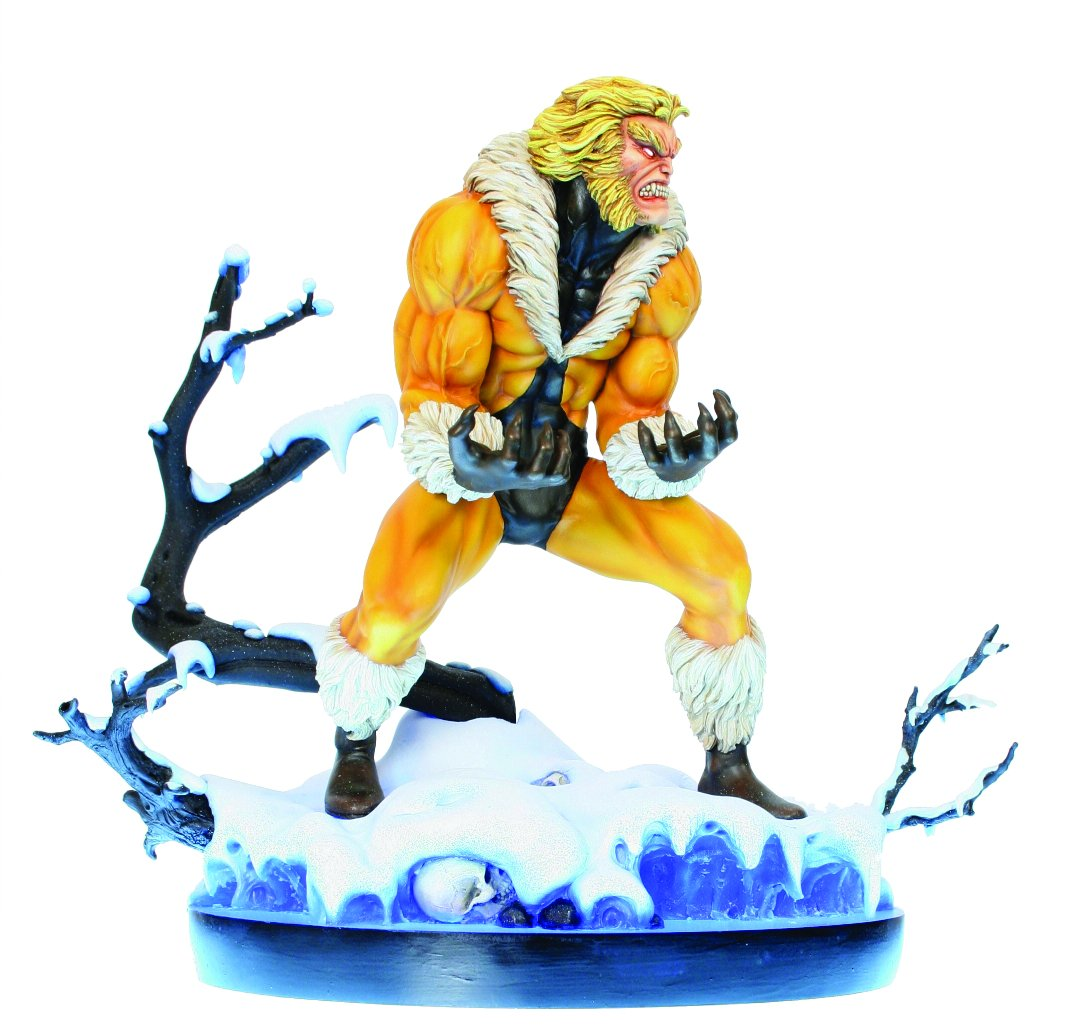 Marvel Resin-Statue Sabretooth 30 cm