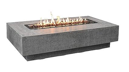 Amazon.com: Elementi - Mesa de chimenea para exteriores ...
