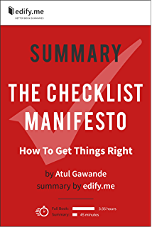 The Checklist Manifesto: How to Get Things Right - Kindle edition ...