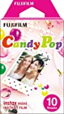 Instax Mini Candy Pop 10pk Film Suitable for Instax Mini Cameras including 7S ,25, 50S, 8, 70 & 90, also SHARE printer SP-2