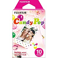 Instax Mini Candy Pop 10pk Film Suitable for Instax Mini Cameras including 7S ,25, 50S, 8, 70 & 90, also SHARE printer…