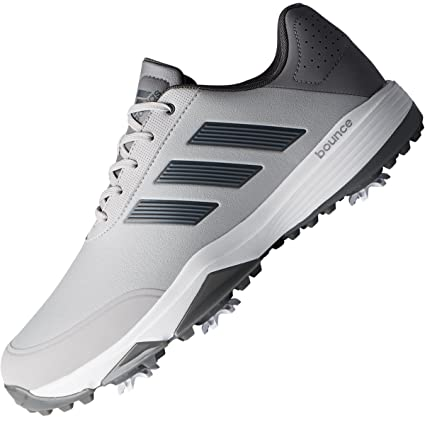 79281c4b8fd64 adidas Golf 2018 Mens Adipower Bounce Spiked Golf Shoes - Wide Fitting Grey  12UK