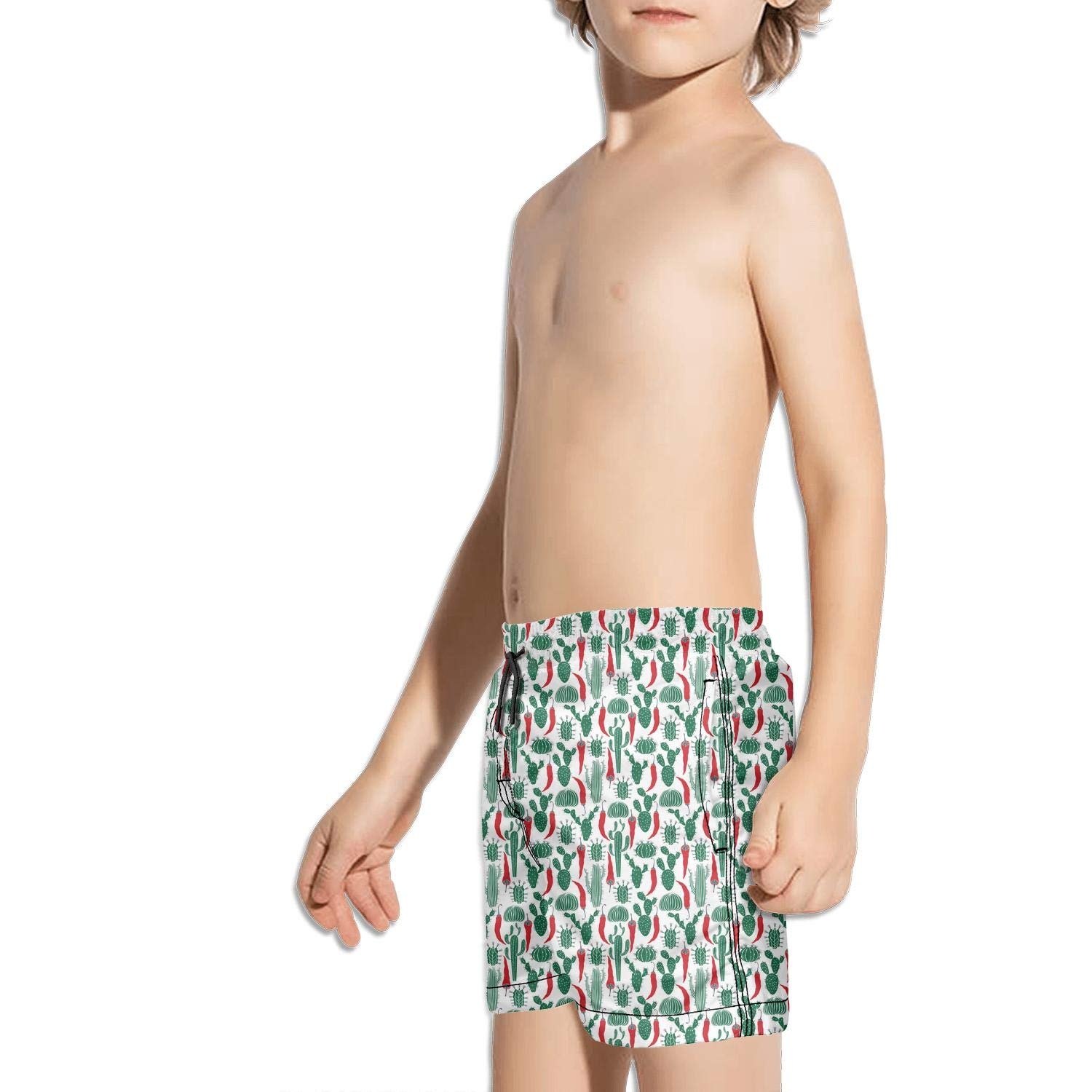 Cacti Cactus Love Boys Fast Drying Beach Swim Trunks Sports Swim Board Shorts