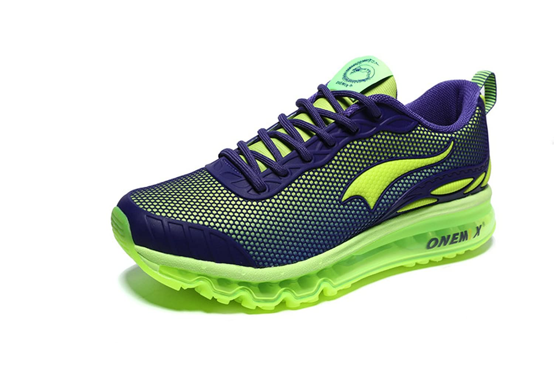Onemix Air Zapatillas para Correr y Asfalto Deportivas Para Hombre Transpirable Para Correr Al aire Libre 40 EU|Verde