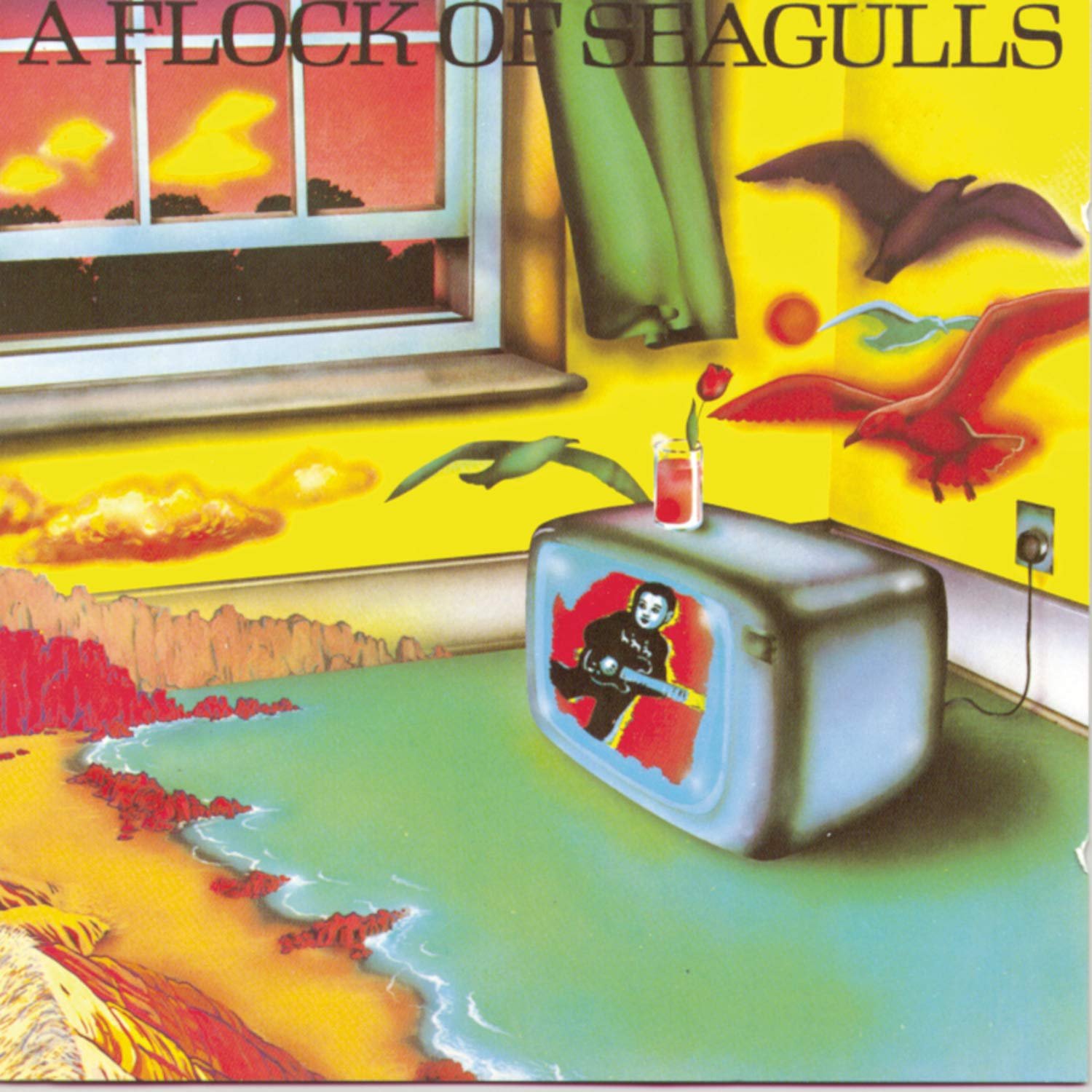 Image result for a flock of seagull debut album
