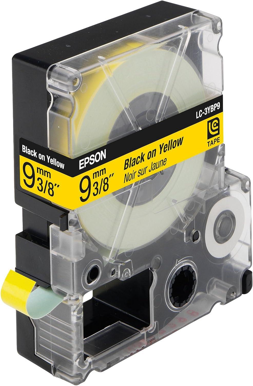 Epson C53s624401 Pastell Band 9 Mm X 9 M Stück Schwarz Gelb Bürobedarf Schreibwaren