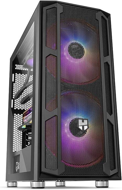 Nox Hummer Nova - NXHUMMERNOVA - Caja PC, Cristal Templado, ARGB ...