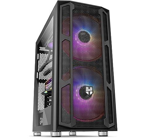 Nox Hummer Quantum - NXHUMMERQUANTUM - Caja PC, ARGB, Cristal Templado: Amazon.es: Informática