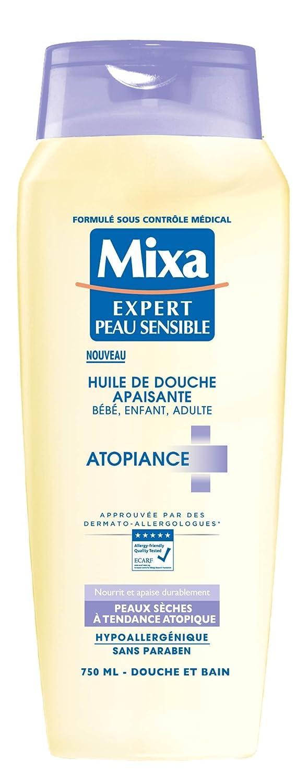 Aceite de ducha calmante para bebé/niño/adulto para piel de Tendance Atopique 750ml de MIXA D3233400