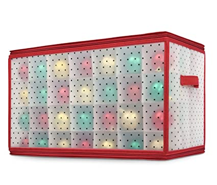 Image Unavailable Amazon.com: Miusco Holiday 112 Slots Large Clear Plastic Ornament