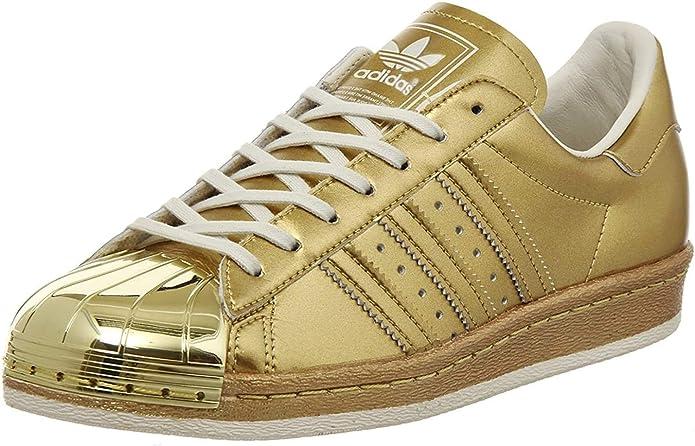 Buy adidas Originals Men's Superstar 80S Metallic Pack Gold and ...