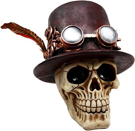 4 x 3cm nuevo Remaches decorativos calavera Skull cráneo piratas cabeza bastones grande aprox