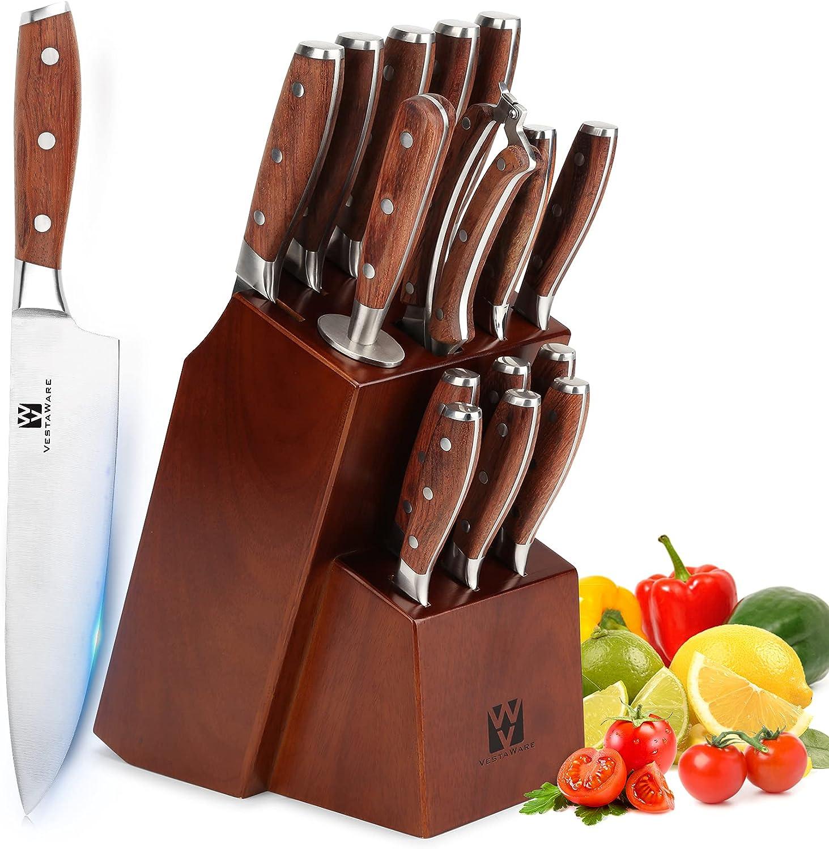 German Stainless Steel Knife Set