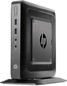 HP t520 Flexible Thin Client, 4 GB DDR3 RAM, 16 GB eMMC, Windows Em (Renewed)