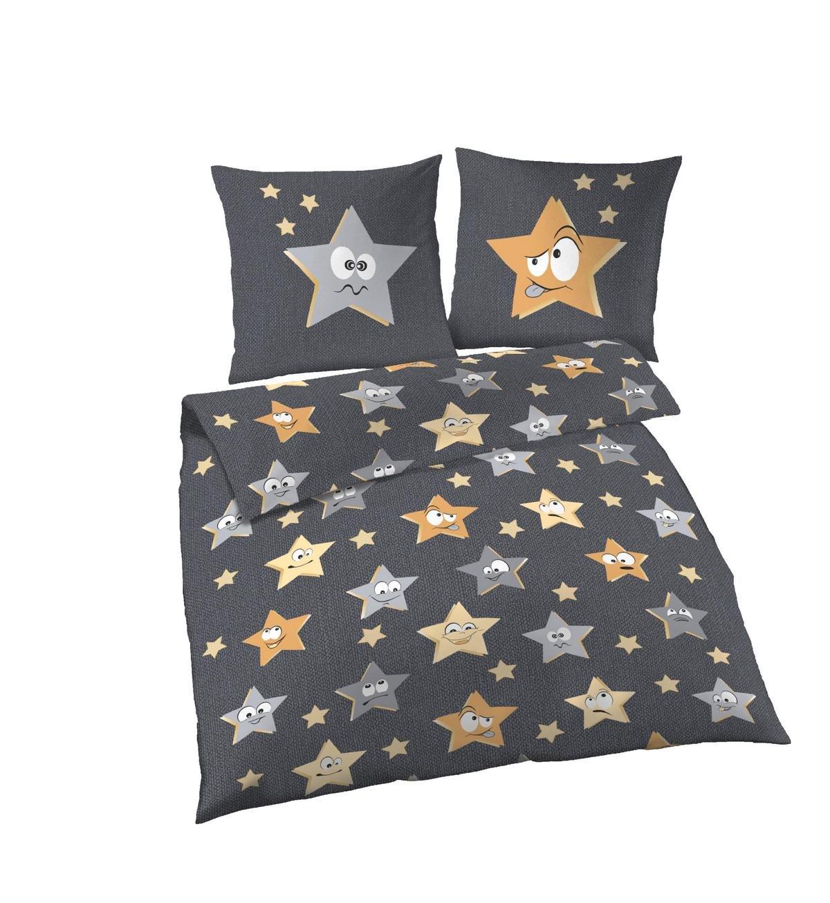 Biber Bettwsche Grau. Awesome Wunderbare Sternen Bettwasche Jack By ...