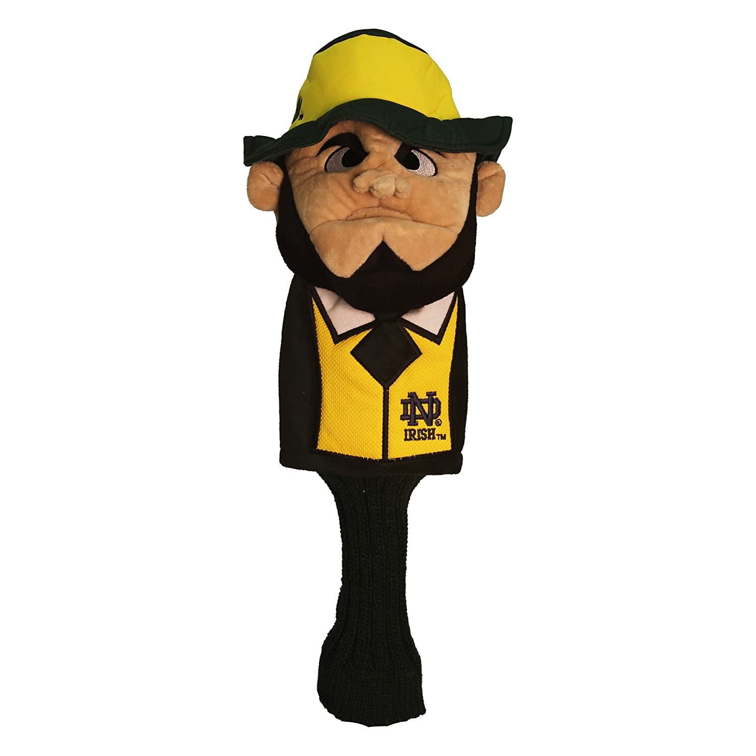 NCAA Notre Dame Team Mascot Head Cover : Sports Fan Golf Club Head Covers : Sports & Outdoors