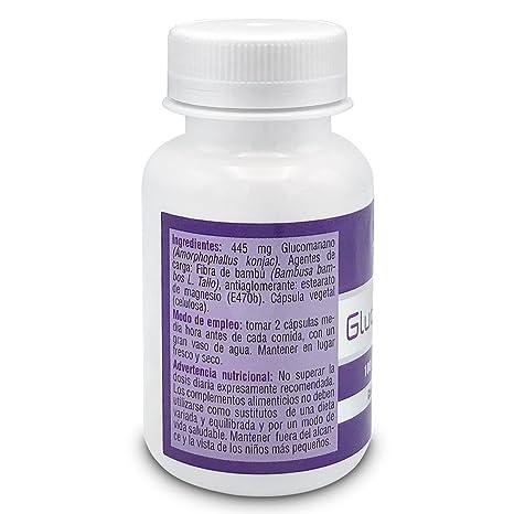 SOTYA - SOTYA Glucomanano 100 cápsulas 600mg: Amazon.es: Salud y cuidado personal