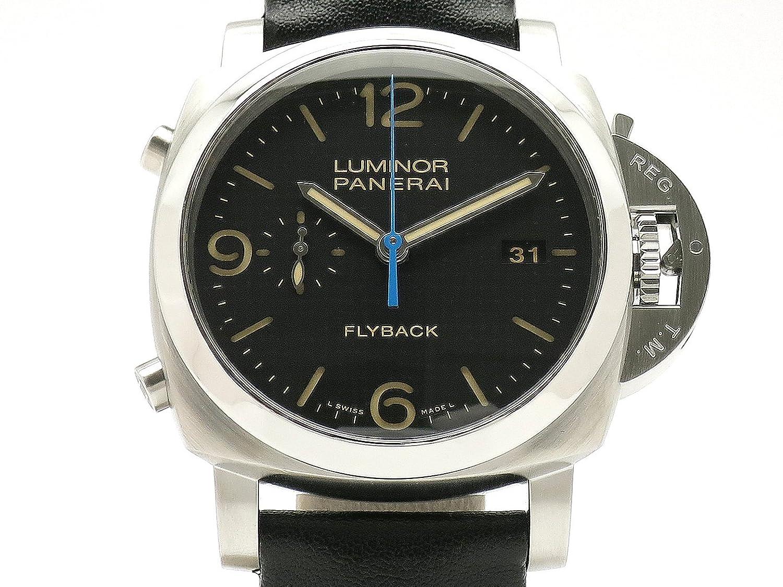 (パネライ) PANERAI 腕時計 ルミノール 1950 3デイズ クロノ フライバック SS/革 PAM00524 メンズ 中古 B07F8MPSKZ