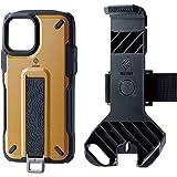 エレコム iPhone 11 Pro ケース アウトドア NESTOUT Trekking 指を通せるベルト付 [すばやく着脱可能な専用ホルダー付属] コヨーテブラウン PM-A19BNESTTBR
