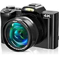 4K Digital Camera, Video Camera Camcorder VideoSky UHD 48MP with WiFi 3.5 in Touch Screen 16 X Digital Zoom Wide Angle…
