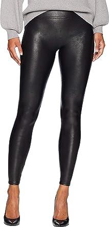 Spanx Womens Petite Faux Leather Leggings At Amazon Women S Clothing