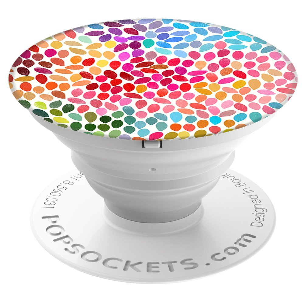 PopSockets: Collapsible Grip & Stand for Phones and Tablets - Rain PopSockets Wireless 707146