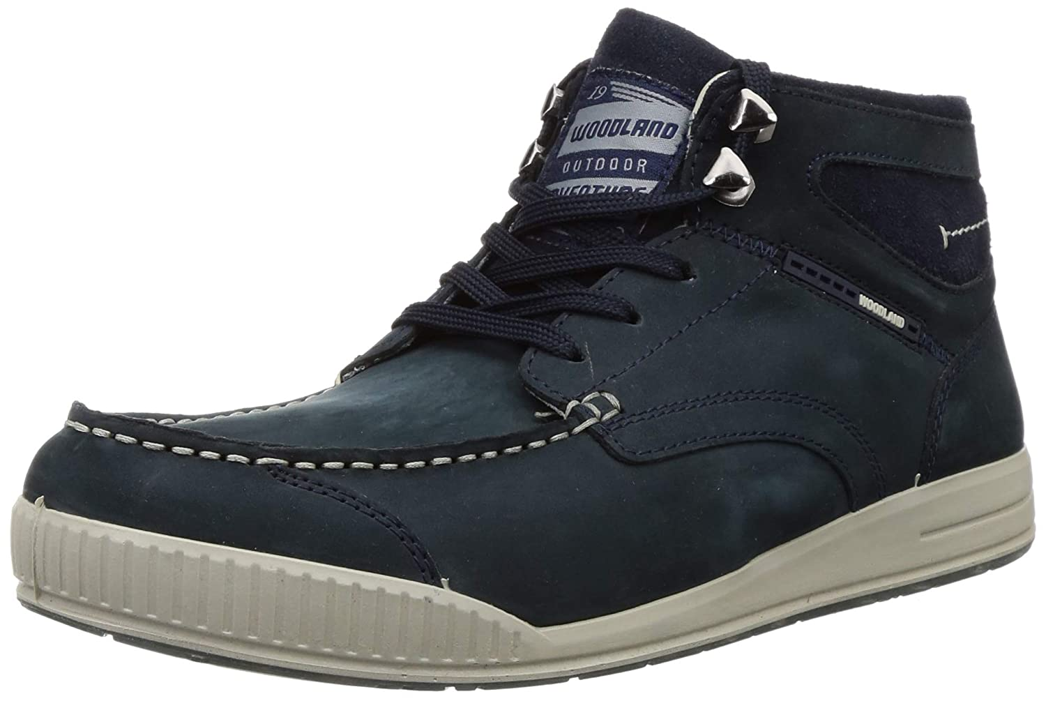 Gb 2927118_Dnavy Leather Boots-7 UK