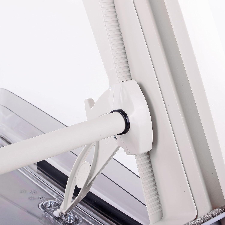 Dachfenster MpK Vision Star M pro klar 40x40 cm Dachst/ärke 25-60 mm 48P