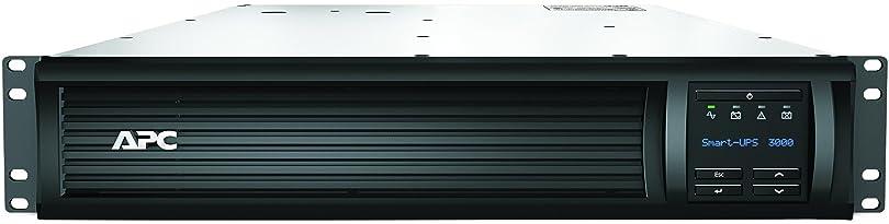 シュナイダーエレクトリック APC Smart-UPS 3000 RM 2U LCD 100V SMT3000RMJ2U